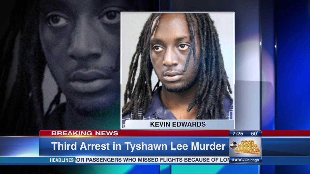 3rd man arrested in Tyshawn Lee murder
