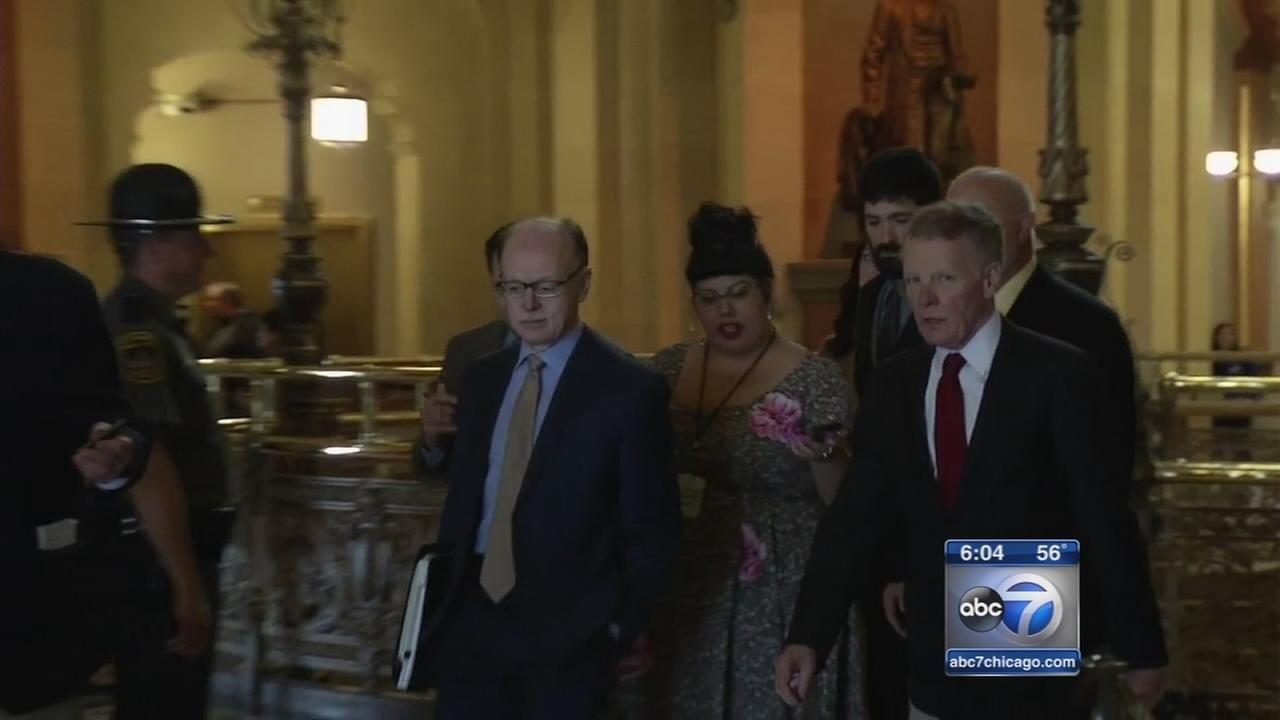 State party leaders meet with governor on Illinois budget