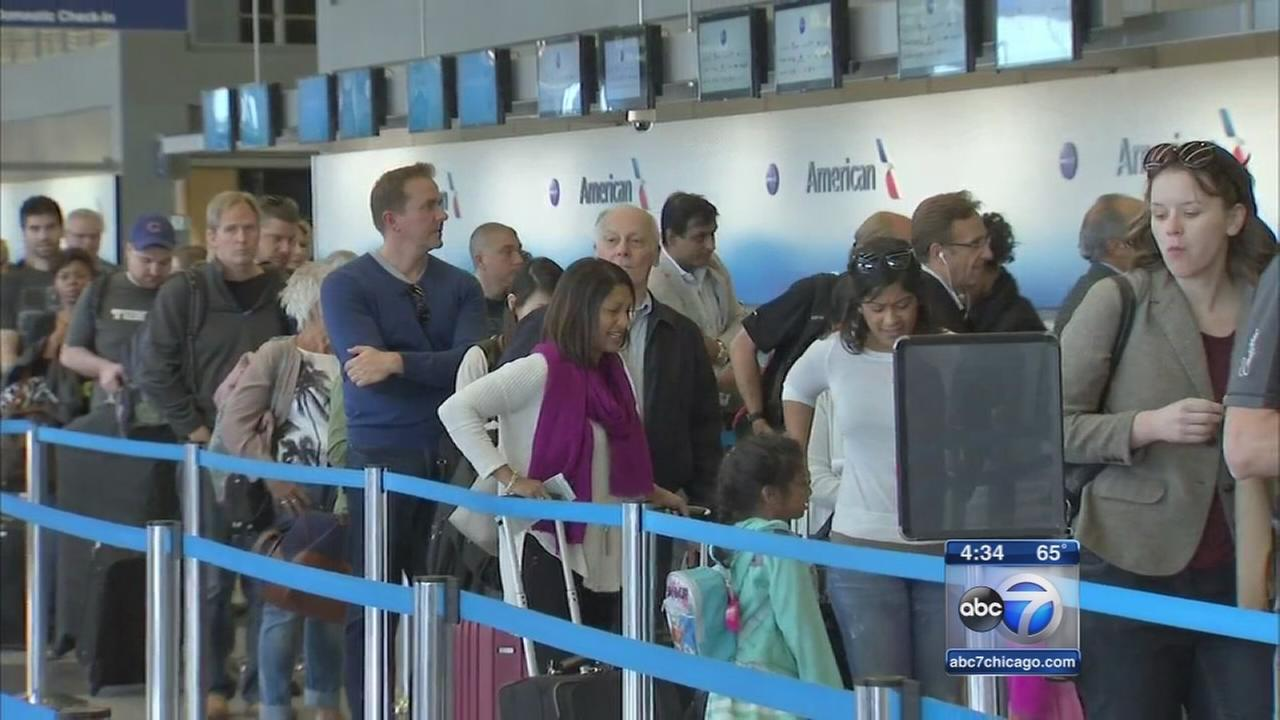 TSA administrator pledges more resources to OHare, Midway