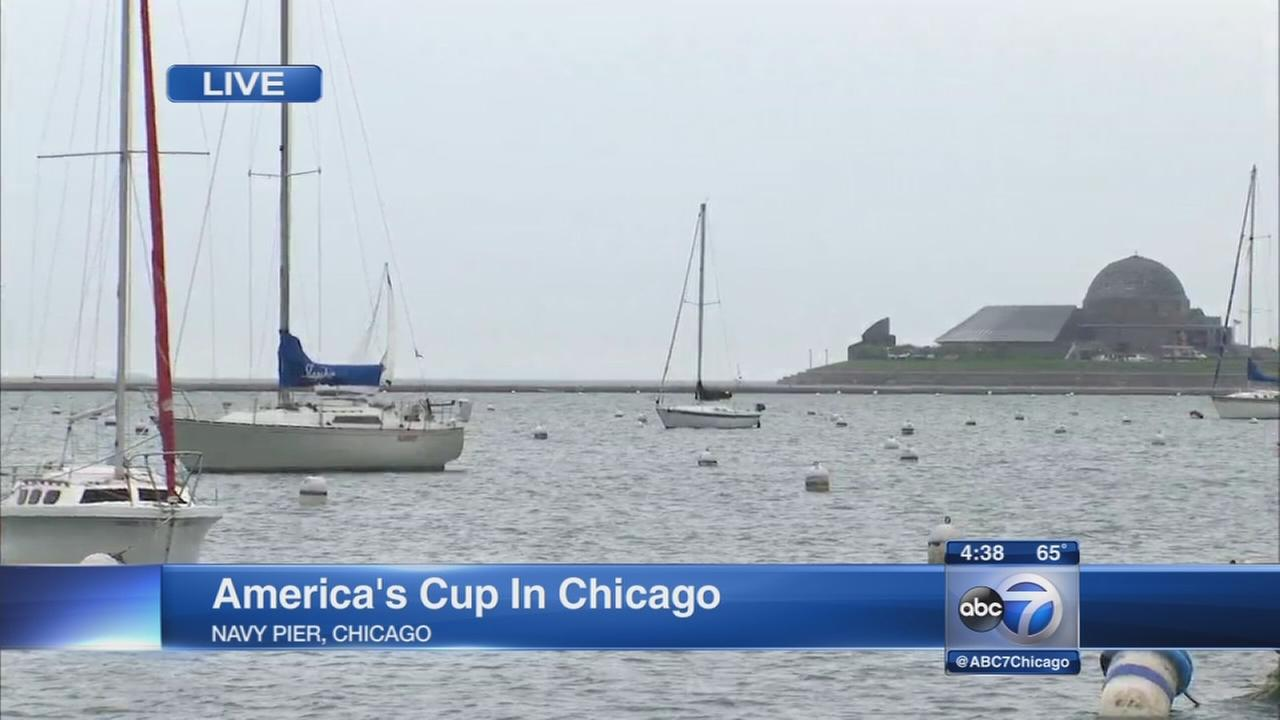 Americas Cup comes to Chicago