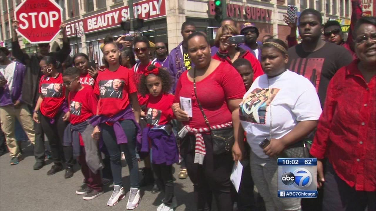 Community outcry over gun violence