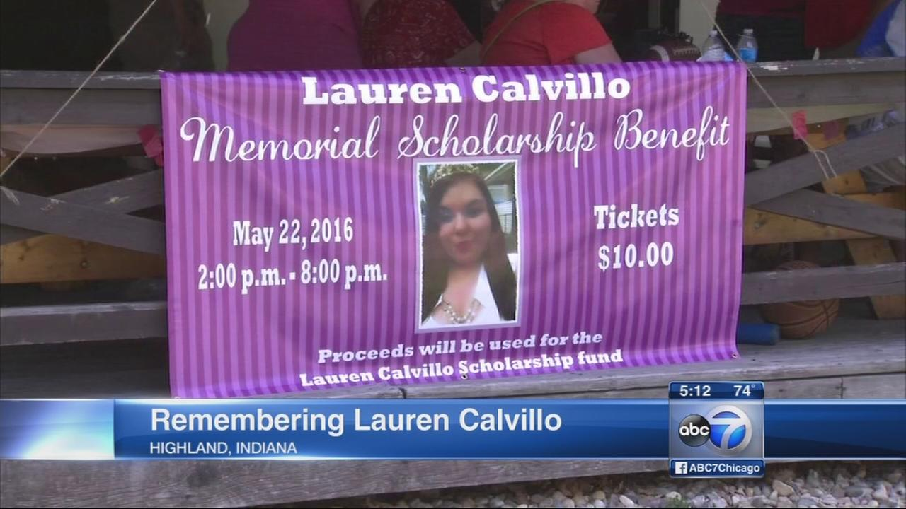 Family holds benefit in honor of Lauren Calvillo