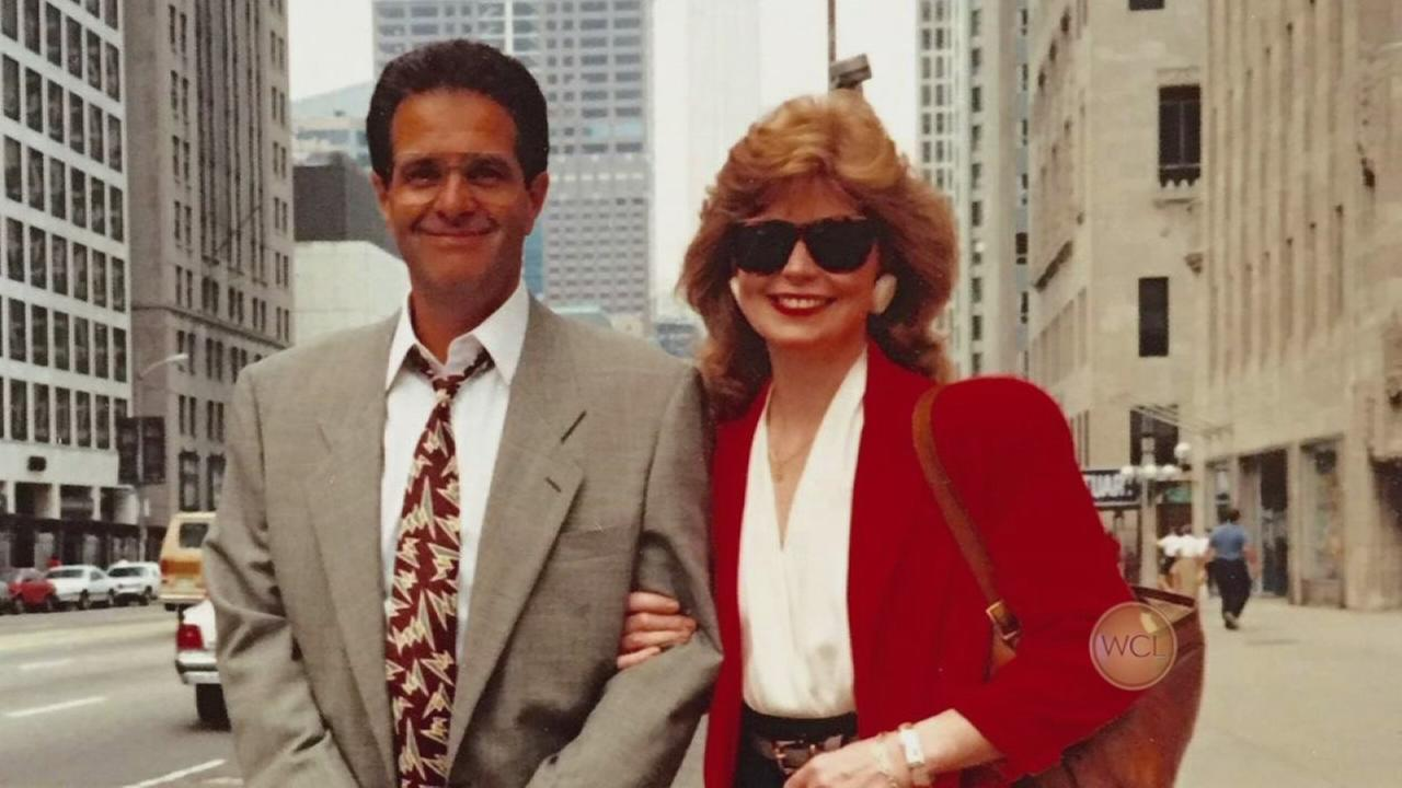 Ron Magers and Carol Marin - together again