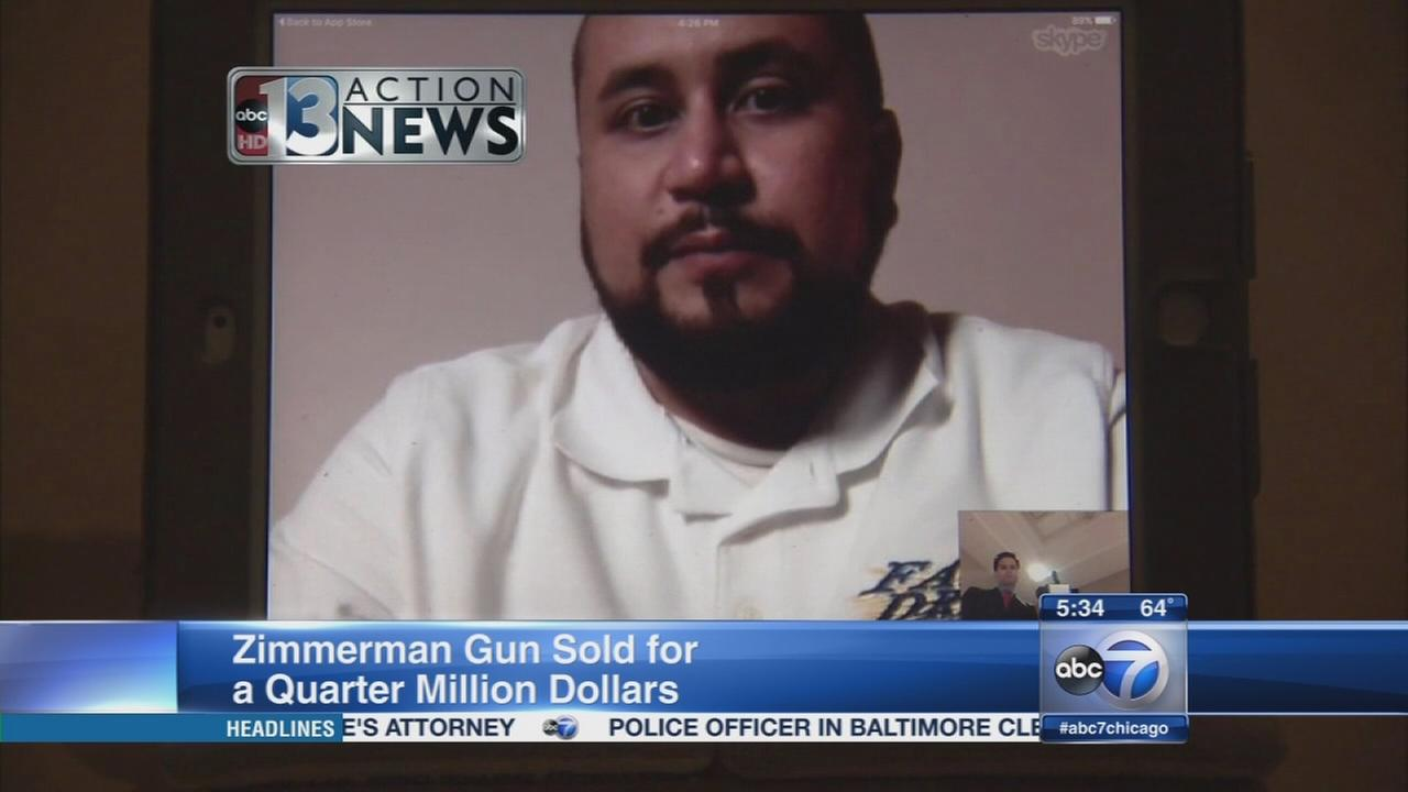 Zimmerman defends gun sale