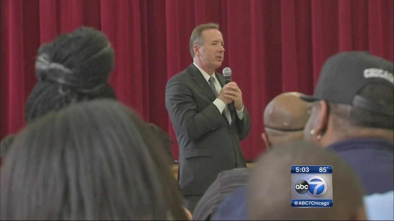 Parents meet with CPS after lead found at school