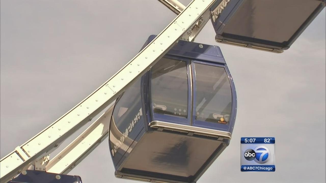 Navy Piers new Ferris Wheel opens Friday