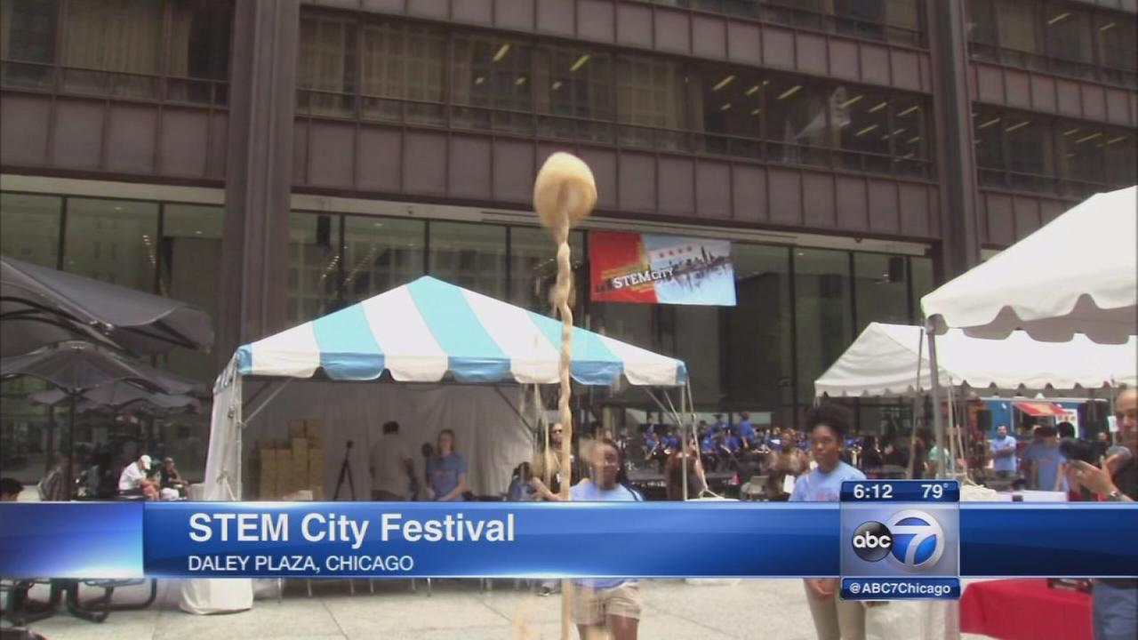 1st STEM City science festival