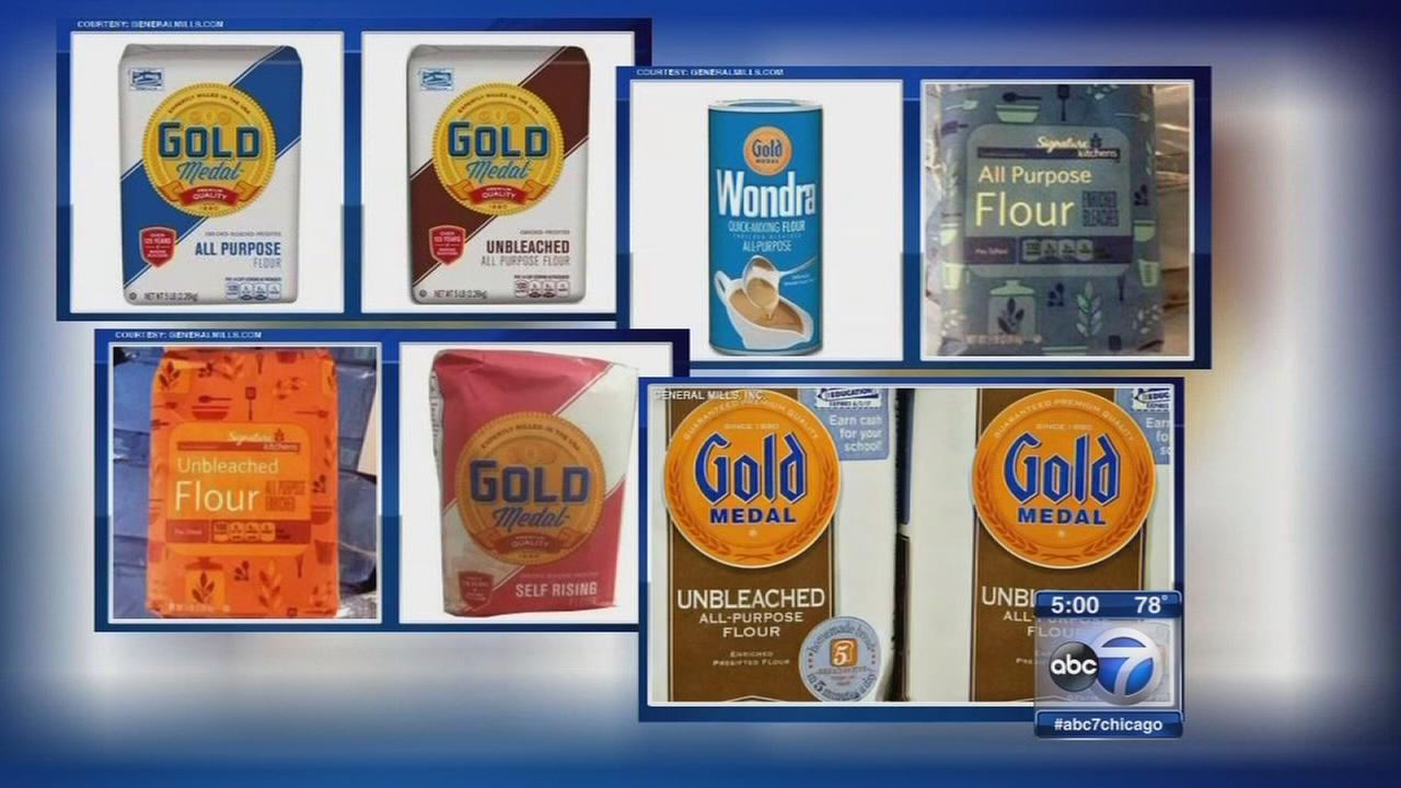 Flour recalled after dozens sickened by E. coli
