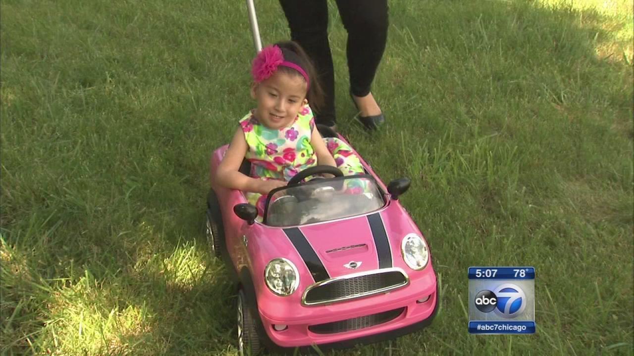 Toddler recieves life-saving back surgery