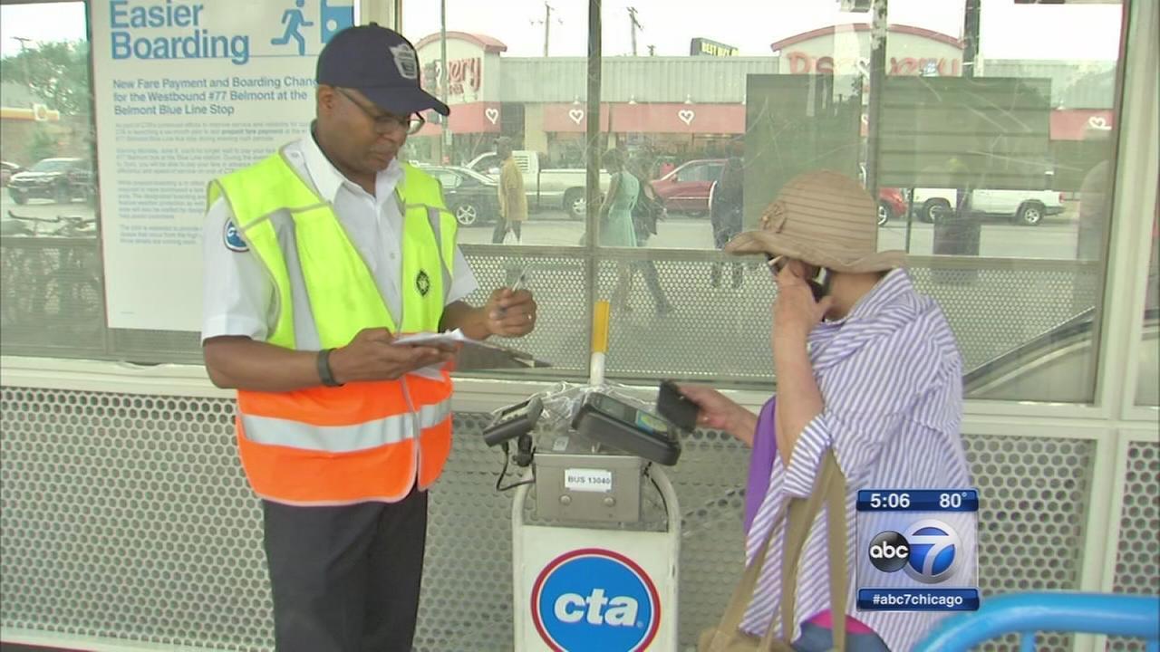 CTA tests out prepaid bus fare