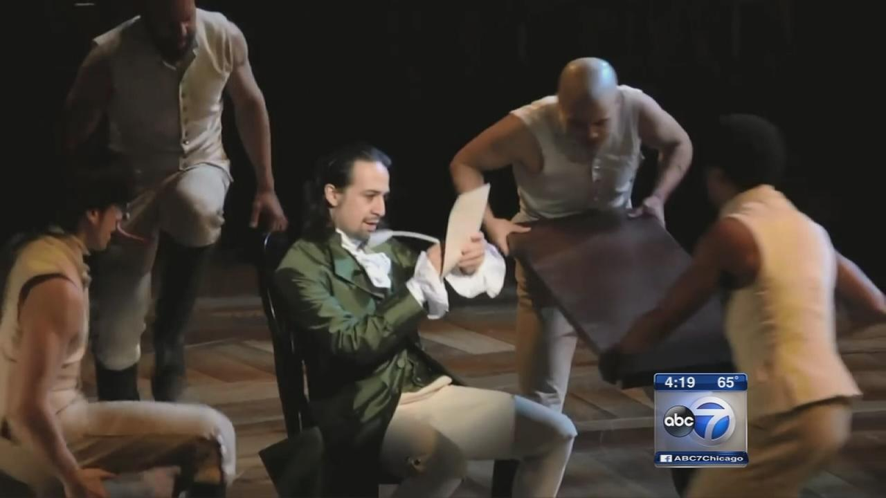 Hamilton tickets will go on sale next week for Chicago run