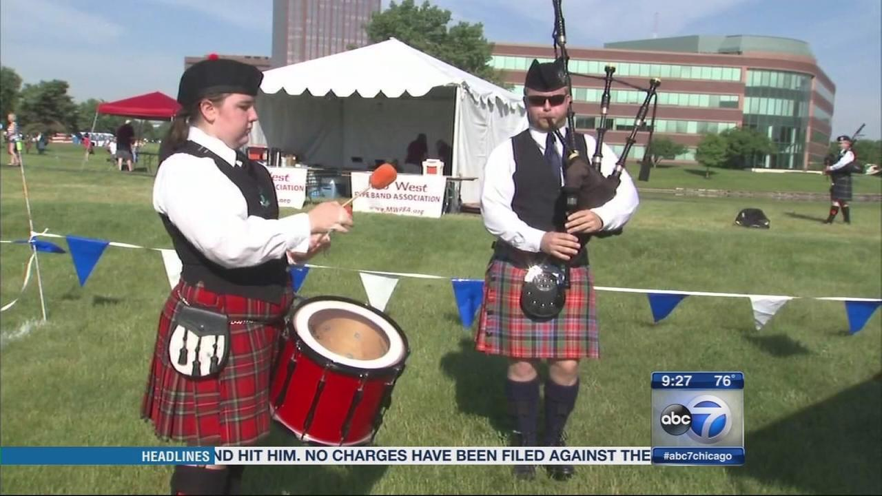 Illinois oldest charity hosts Highland Games
