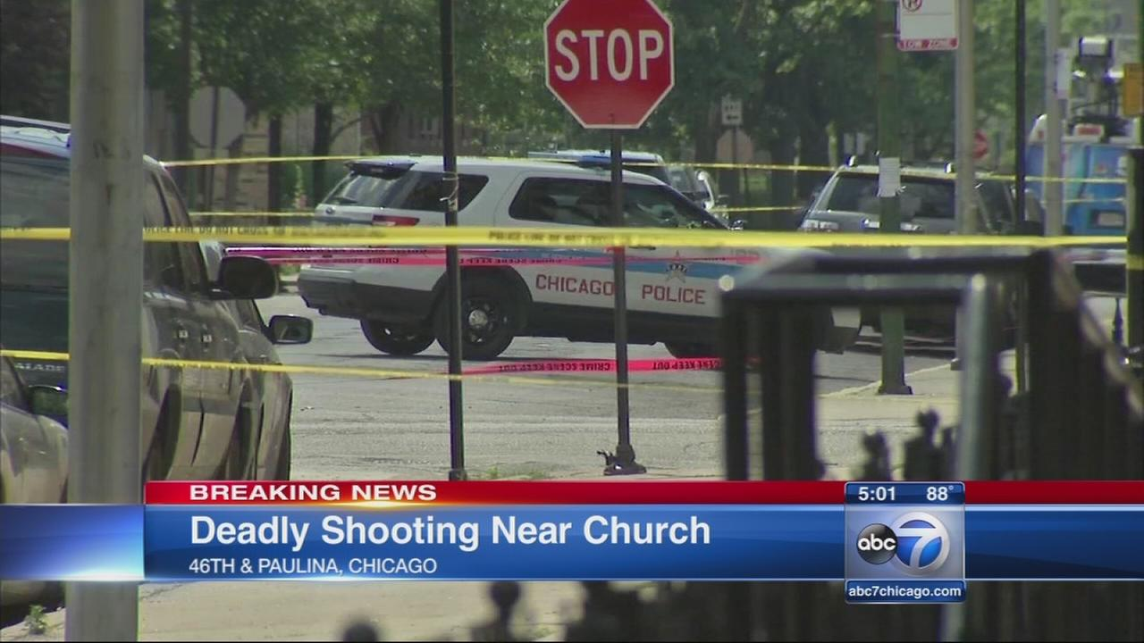 Shooting Near Church