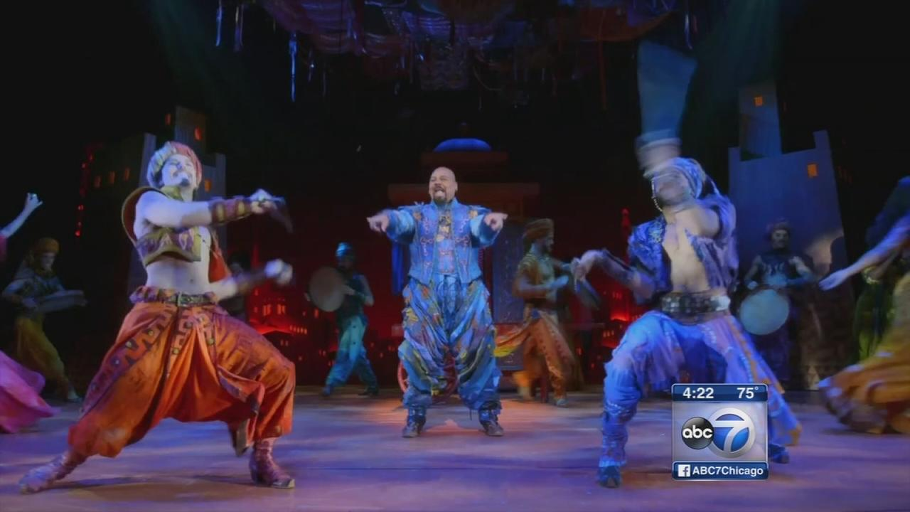 Aladdin coming to Cadillac Palace Theatre