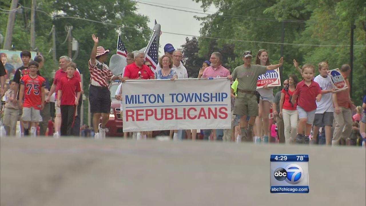 Politicking at parades