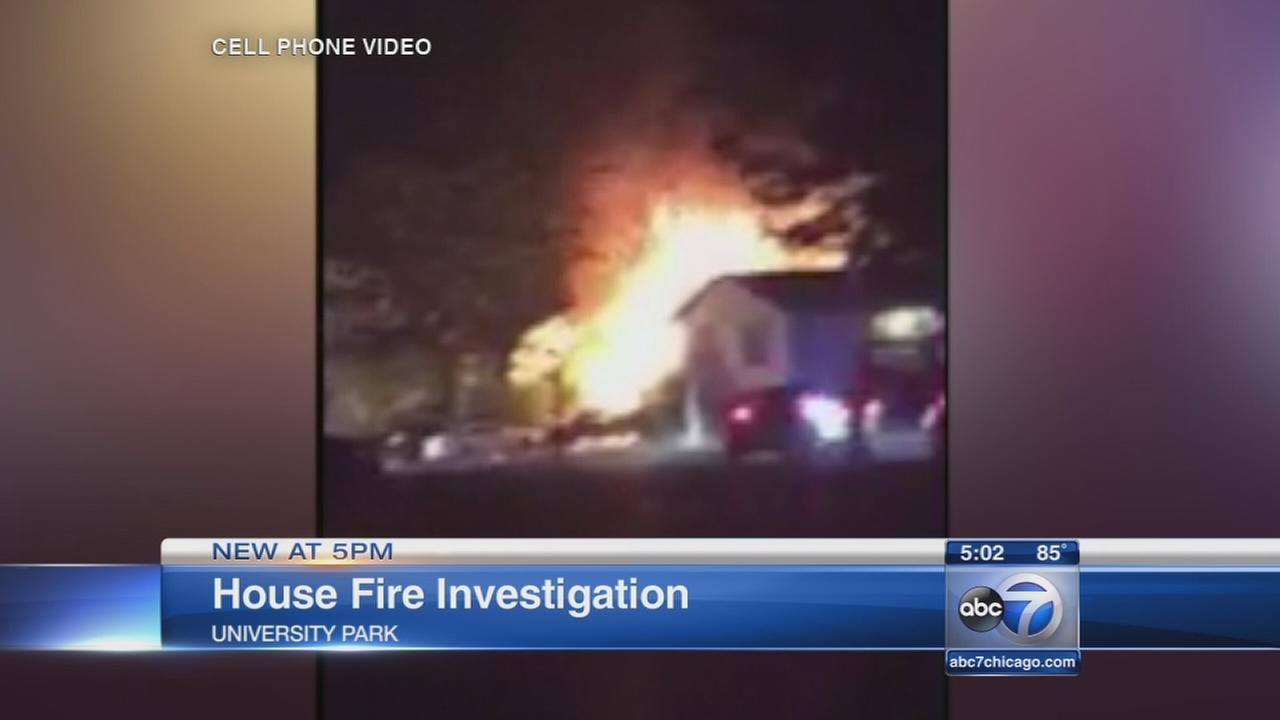 University Park fire rescue caught on video
