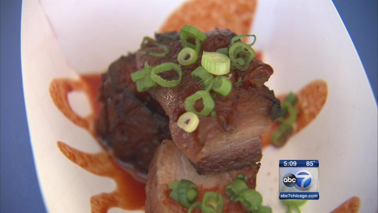 Taste of Chicago underway in Grant Park