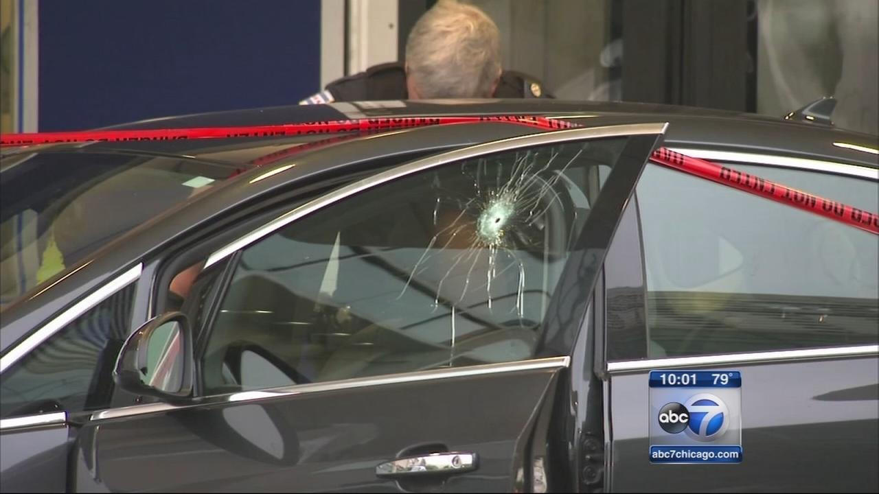 Four year old in shot in drive by