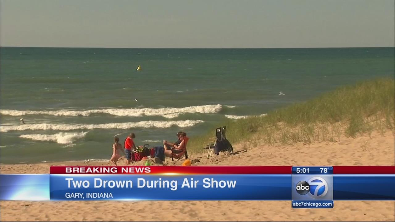 2 drown at Gary beach