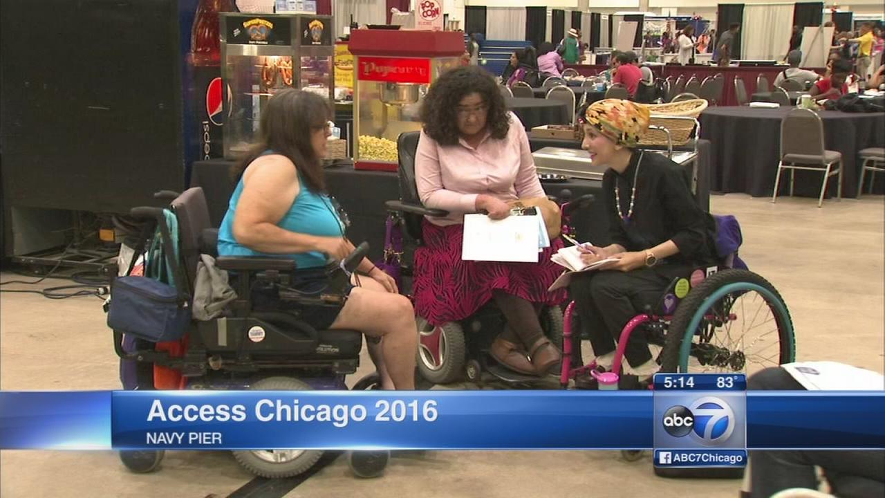 Disabilities Expo held at Navy Pier
