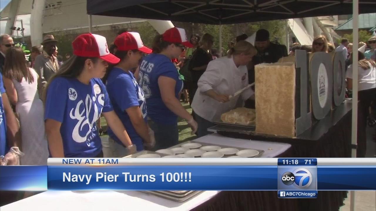 Navy Pier celebrating 100th birthday