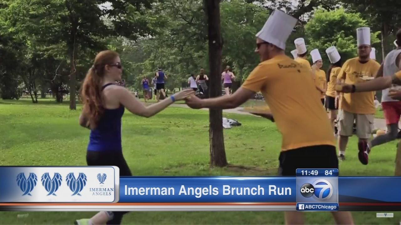 Imerman Angels Brunch 5K supports cancer fighters