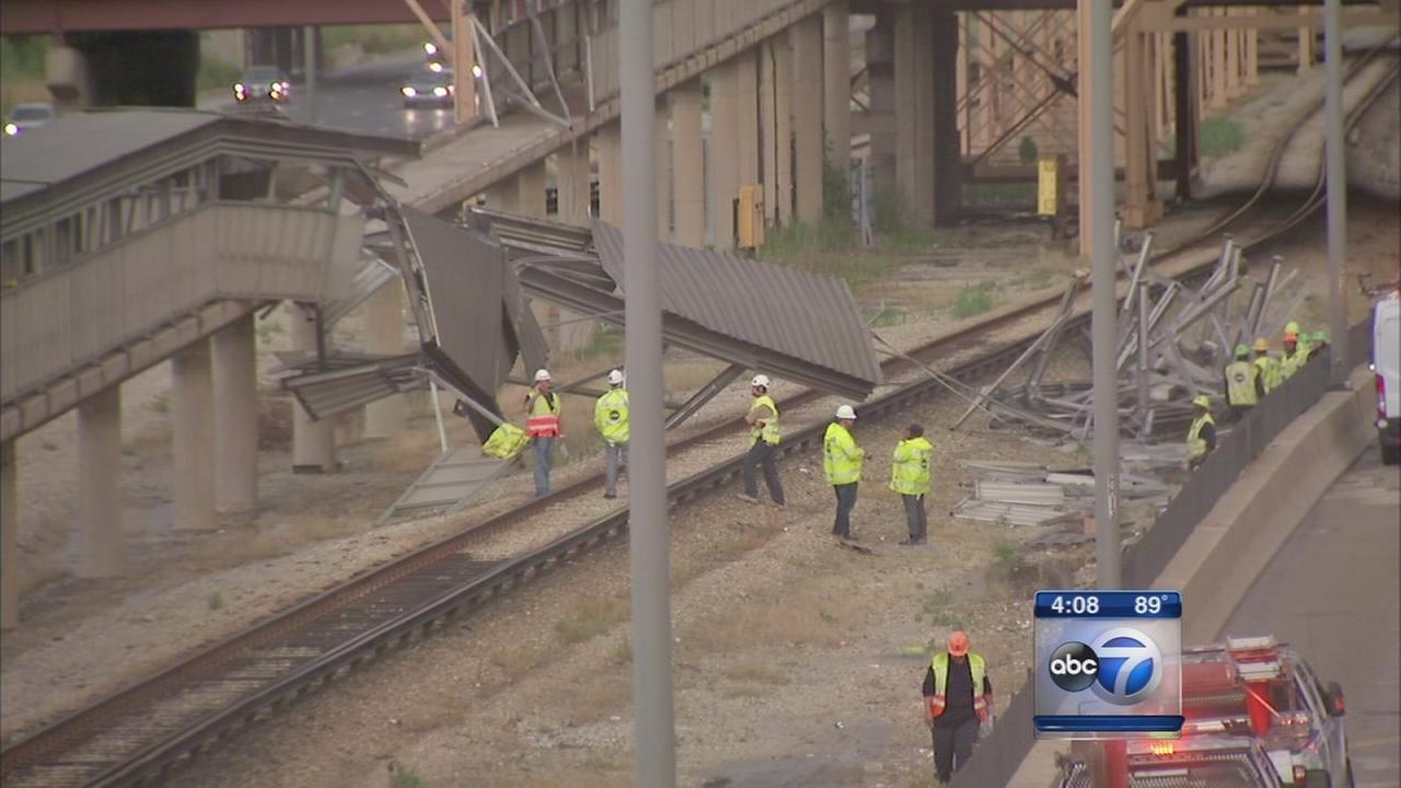 CTA canopy collapse under investigation