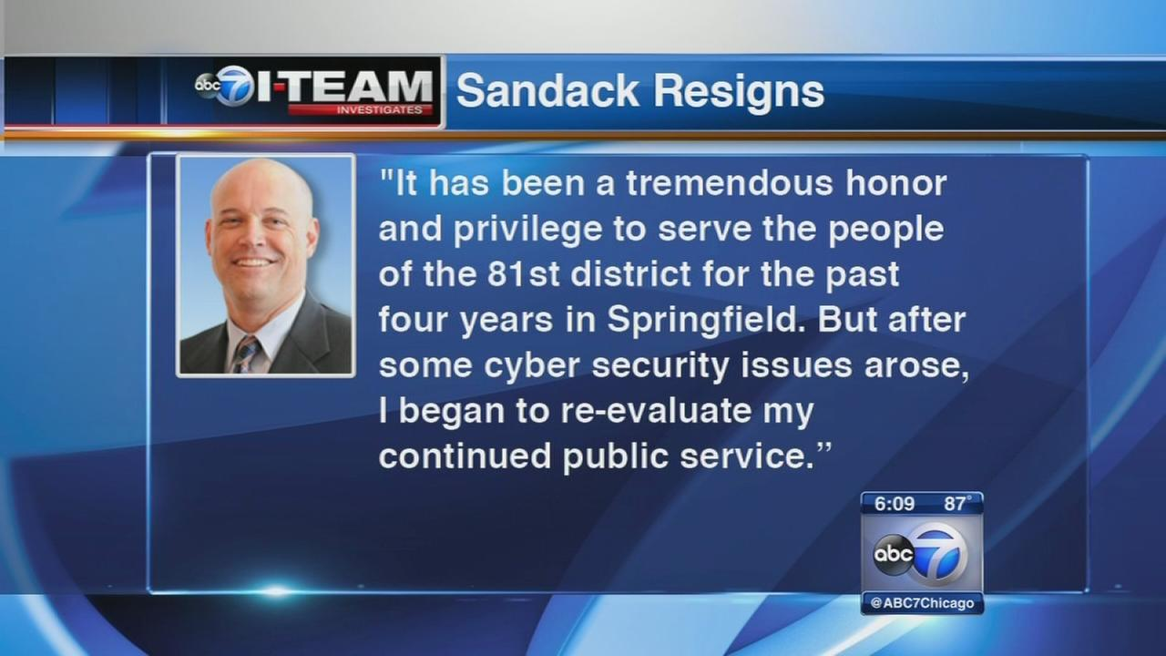 Rep. Sandack resigned over internet scam