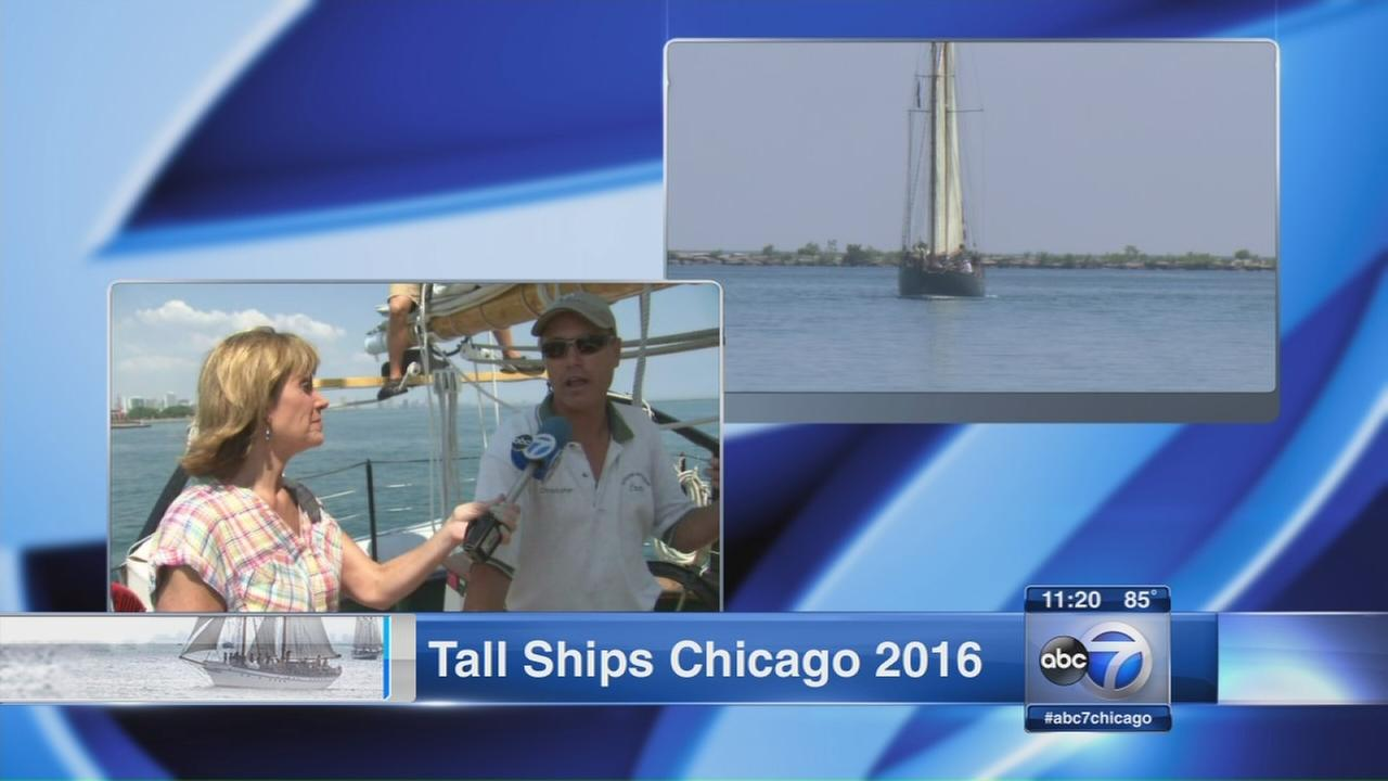 Tall Ships Festival kicks off Thursday