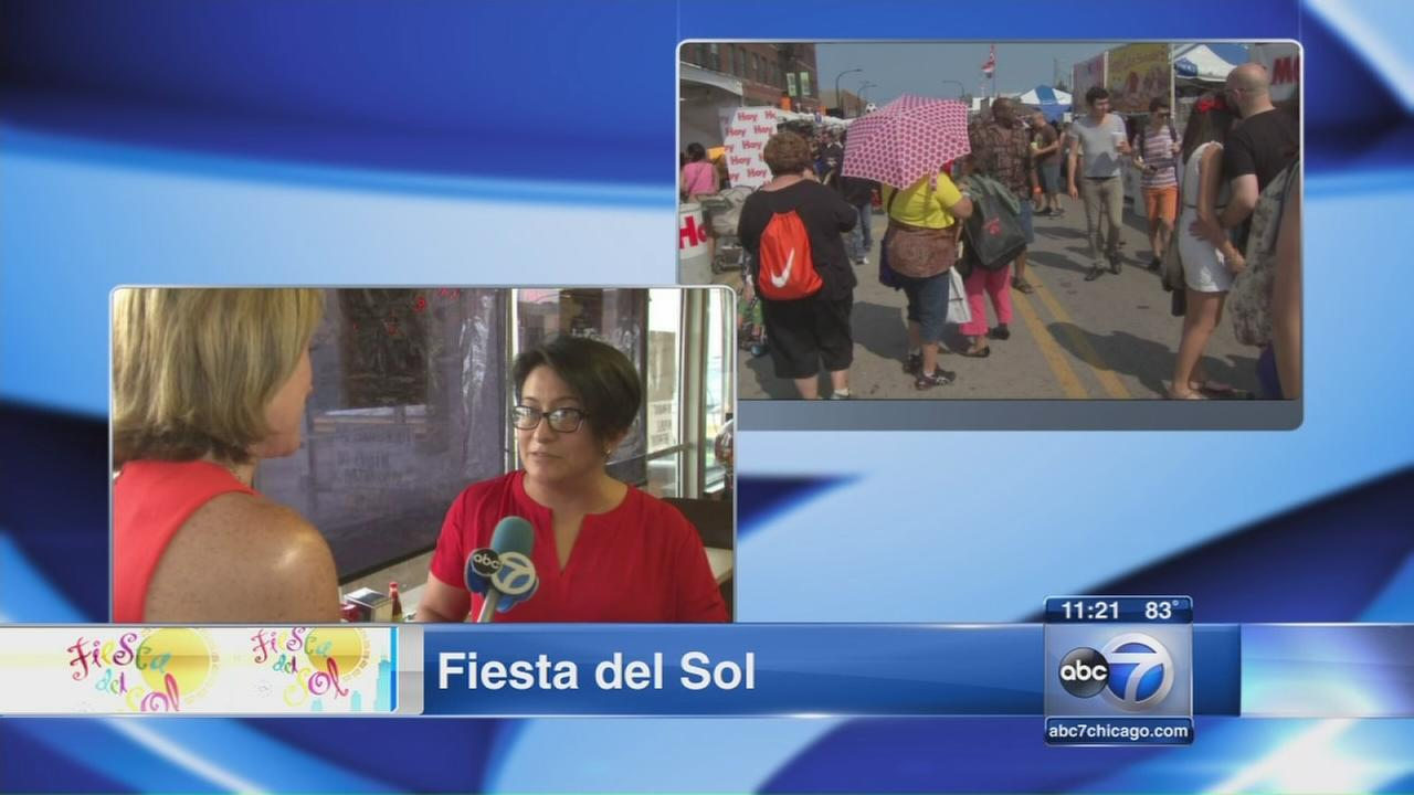 Fiesta del Sol kicks off in Pilsen