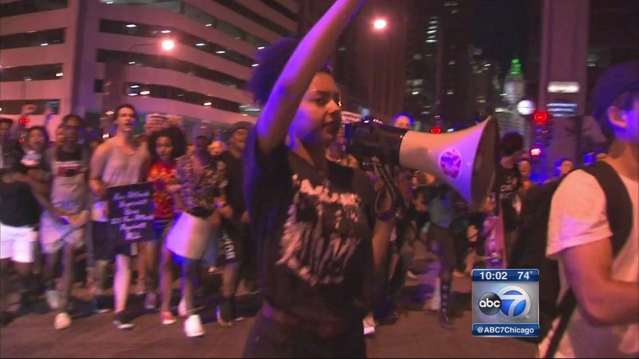 Protests of ONeal shooting continued