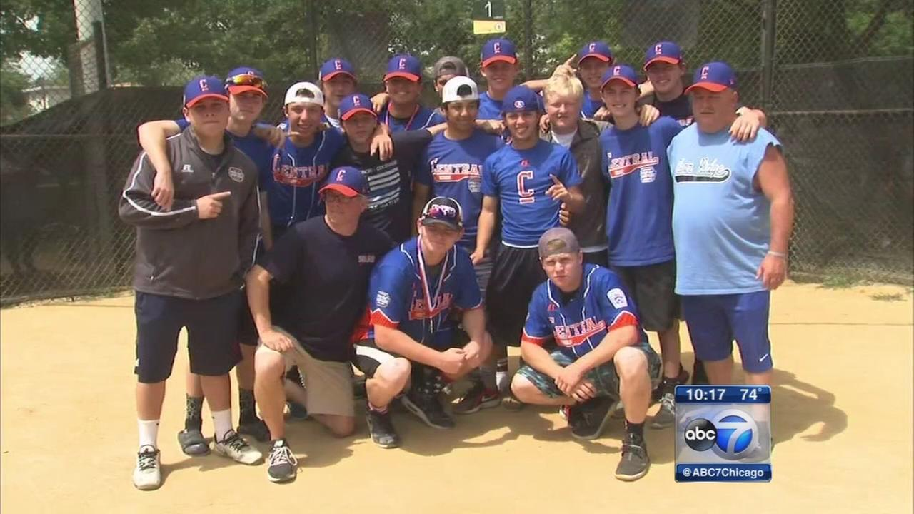 Clear Ridge Baseball team returns home