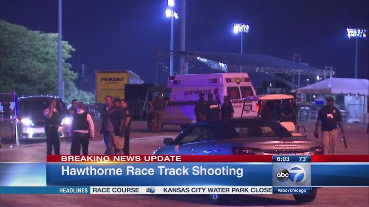 Woman injured in shooting outside Hawthorne Race Track