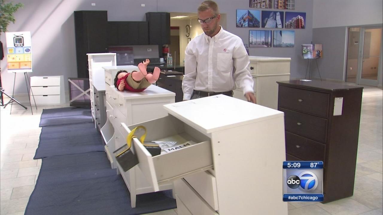 Dresser danger: Tipping furniture can cause children injuries, death