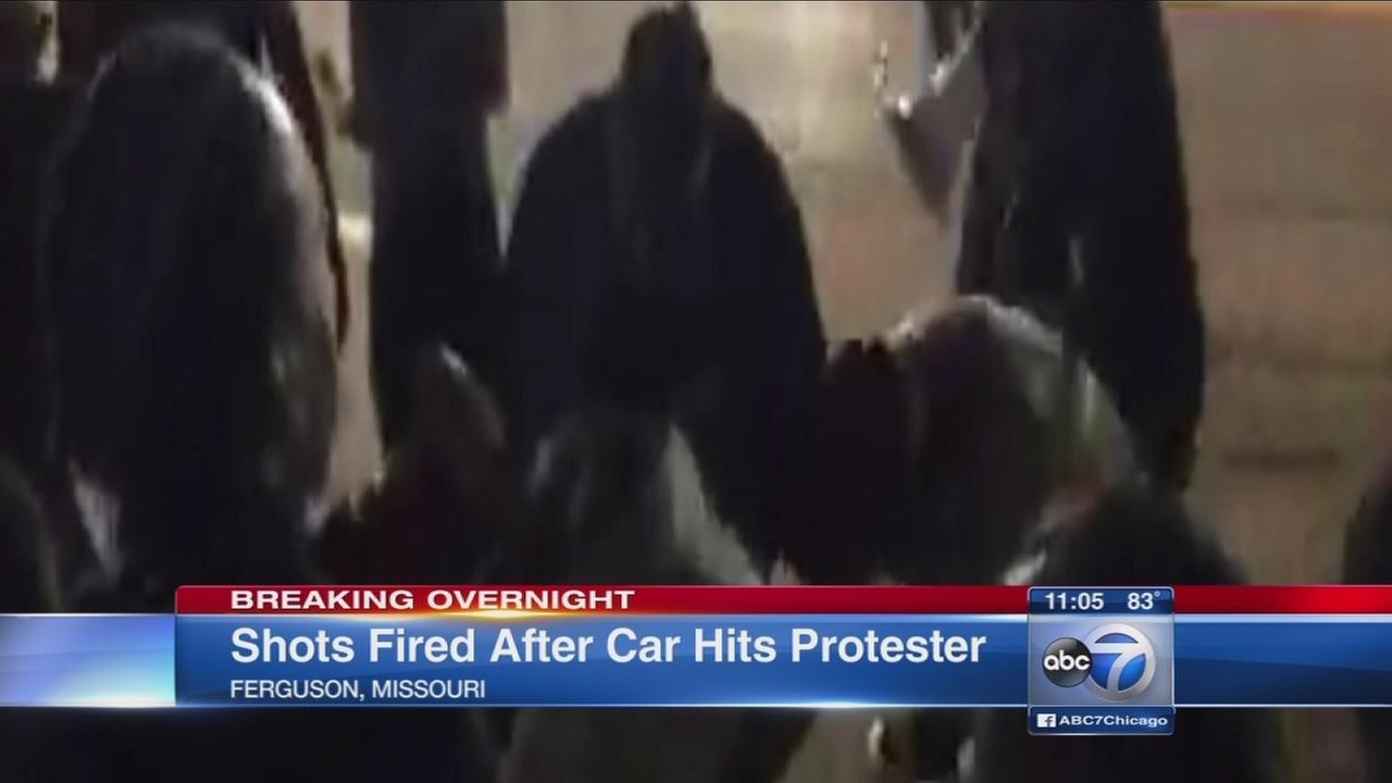 Ferguson protest goes wrong