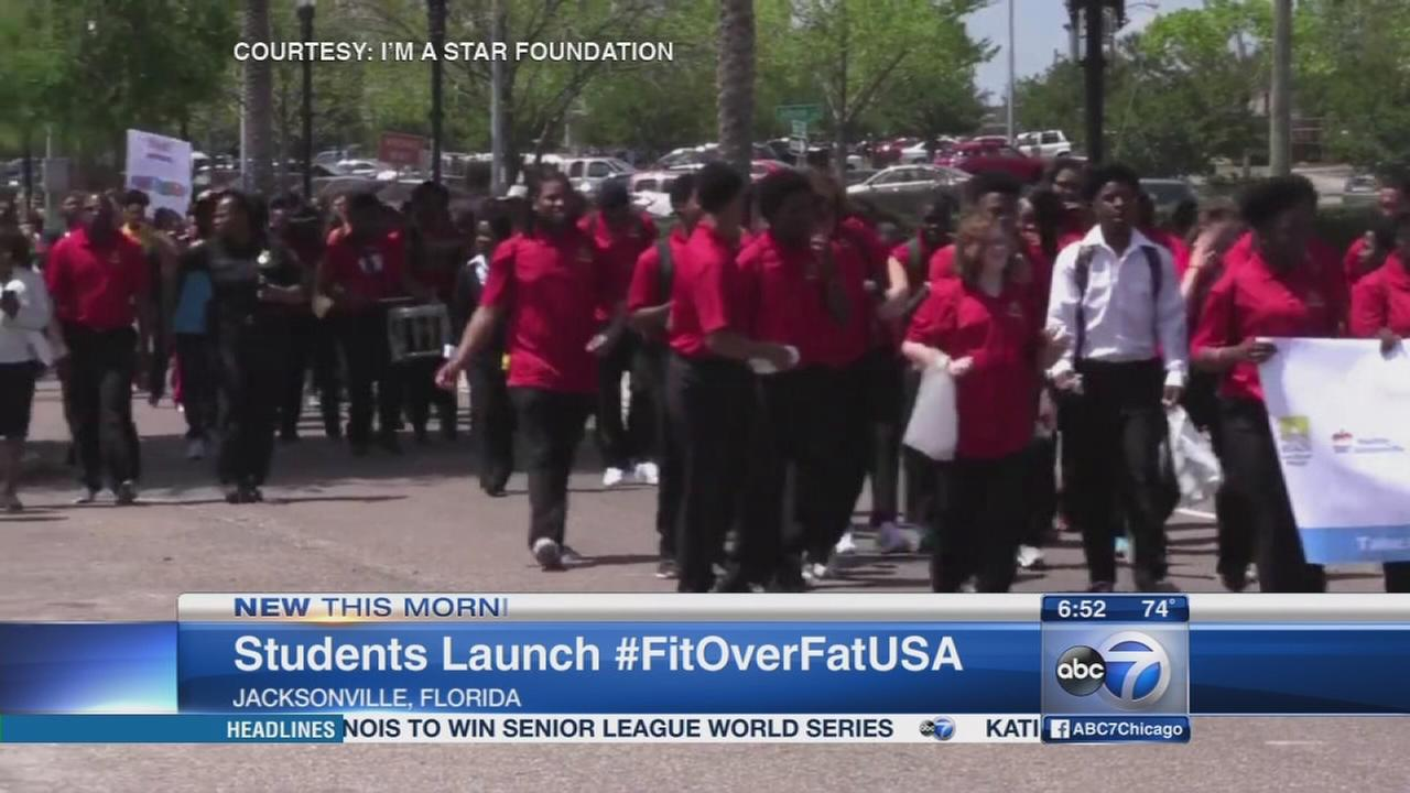 Students lead charge against childhood obesity