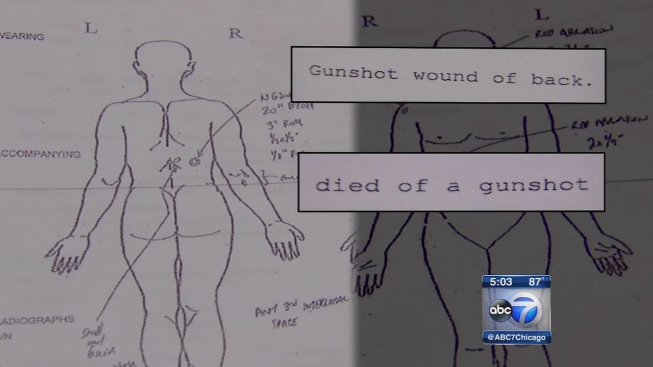 Autopsy: Chicago teen died from 1 shot by police to back