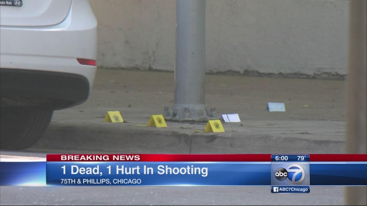 1 dead, 1 wounded in South Shore shooting