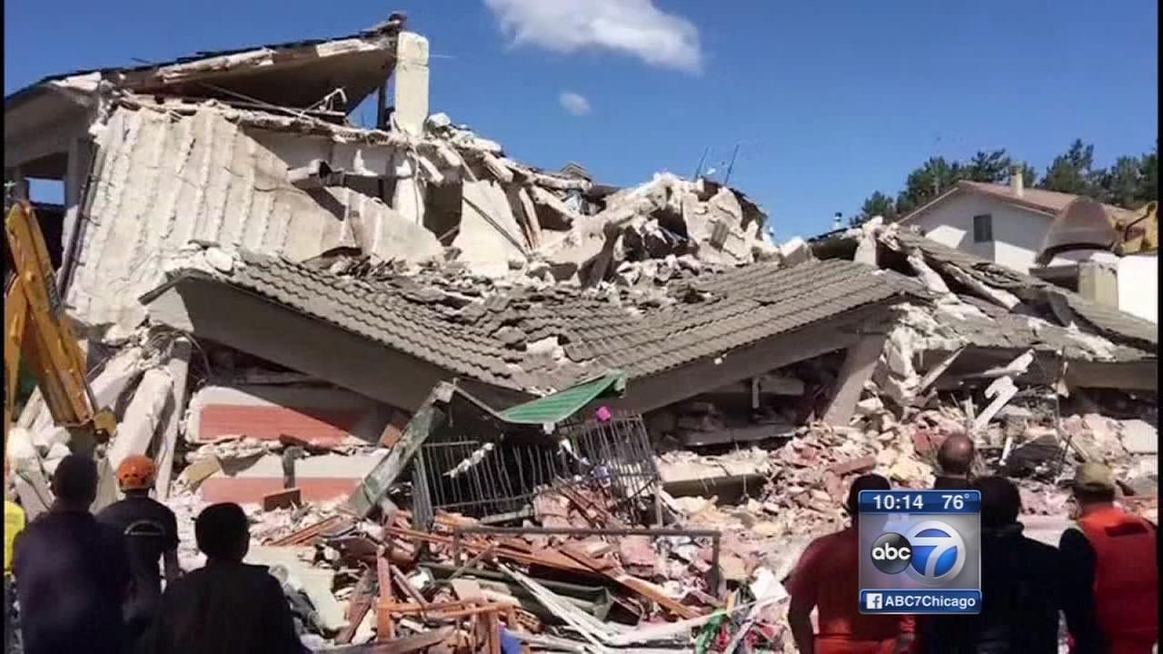 Italy earthquake described as Dantes Inferno kills 159