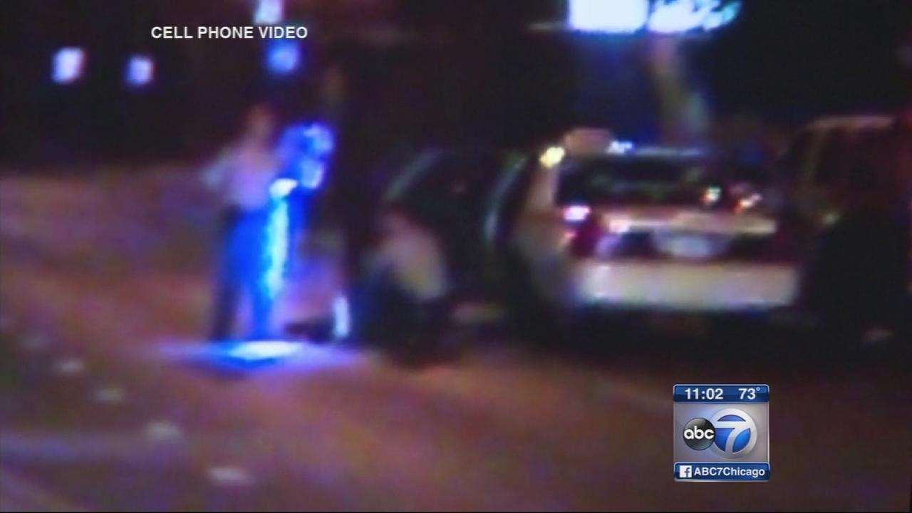 Video shows 2 men shot by ISP
