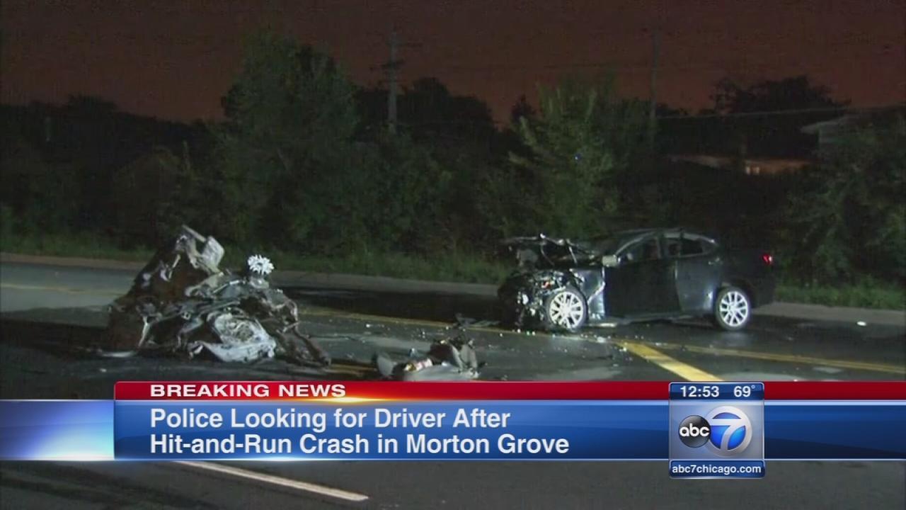 Muti-vehicle hit and run in Morton Grove