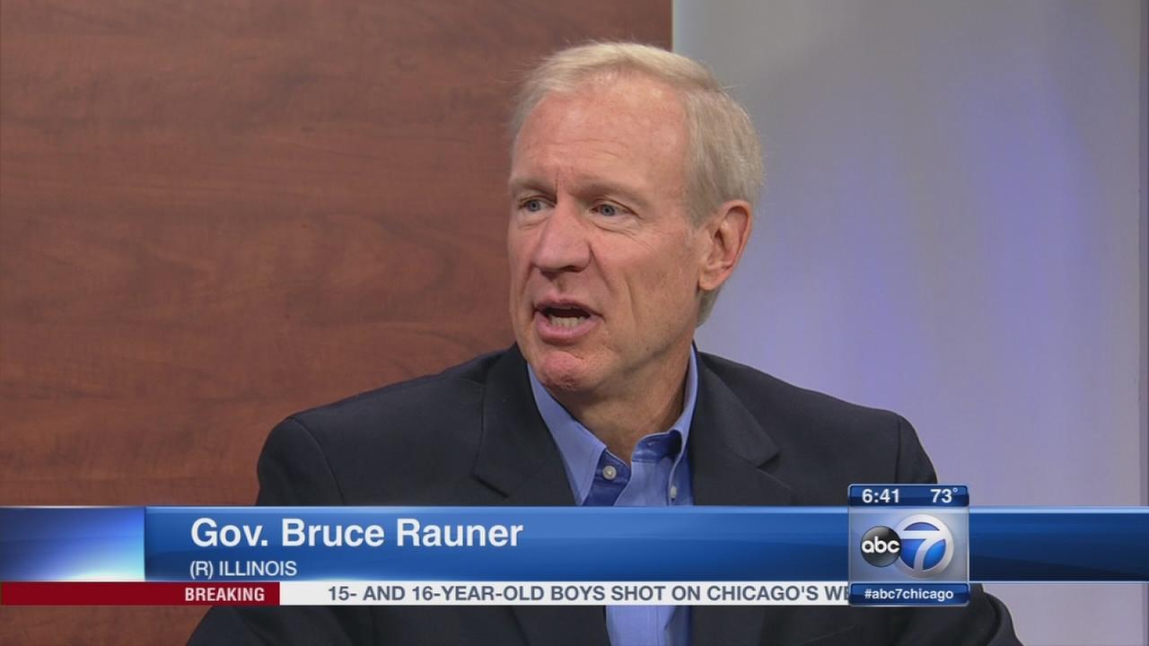 Rauner on term limits redistricting