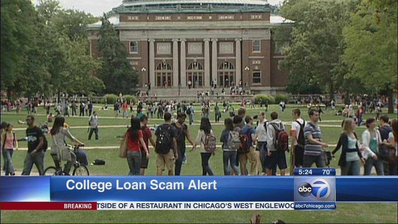 BBB warns of college loan scam