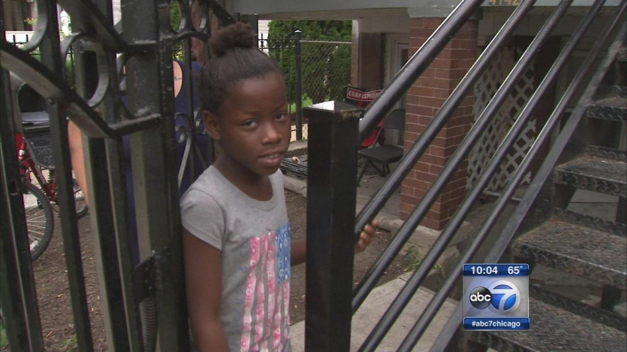 10 year old girl shot in Humboldt Park