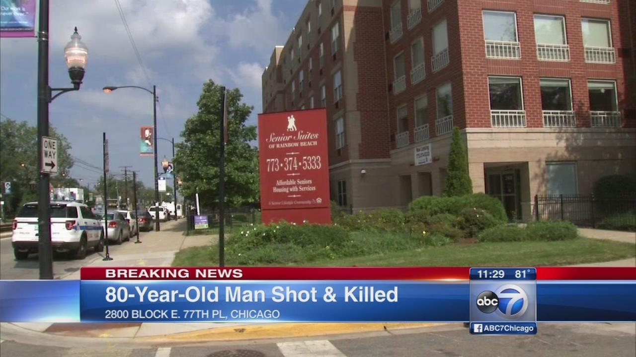 Man, 80, ftally shot in South Shore neighborhood