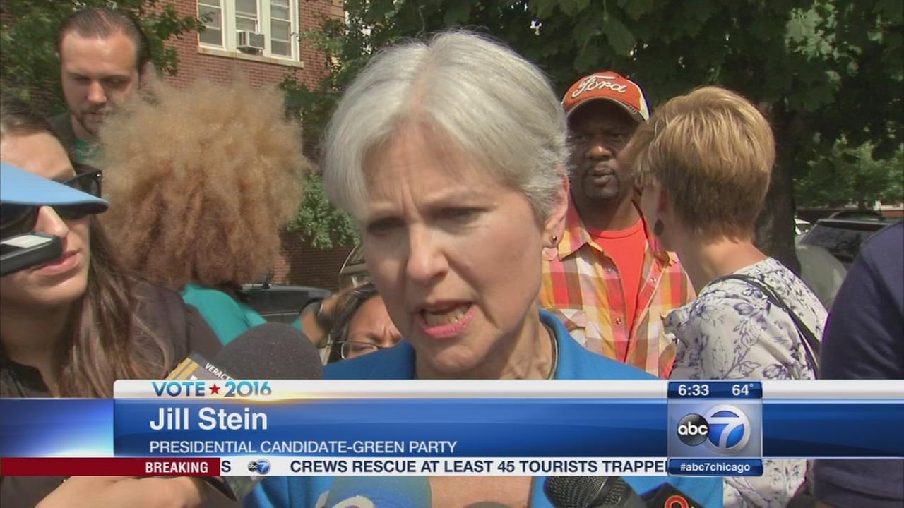 Jill Stein to speak on arrest warrant