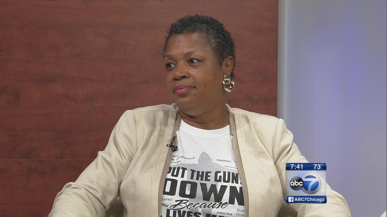 Cheryl Burton interviews Pastor Jolinda Wade