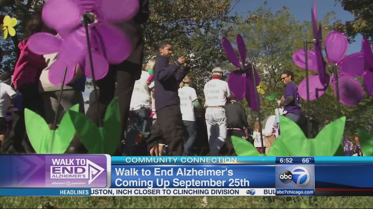 Walk to End Alzheimers returns to Chicago
