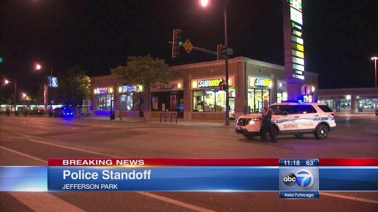 SWAT on scene of police standoff
