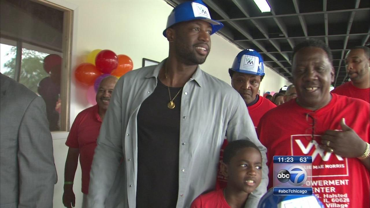 Dwyane Wade opens community center